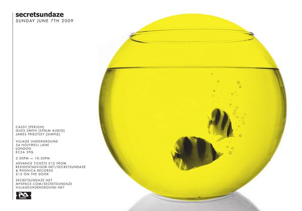 secretsundaze flyer art